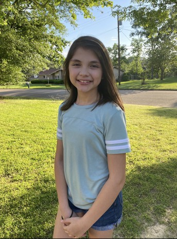 5th grade Student of the Month - Aleaha Webb