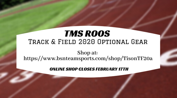 Online Shop for TMS Track & Field Gear