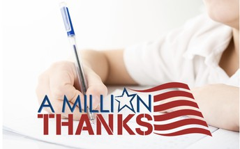 """MES Students Give Vets """"A Million Thanks"""""""