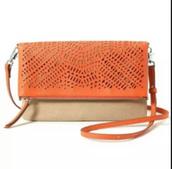 Orange Waverly Crossbody Bag