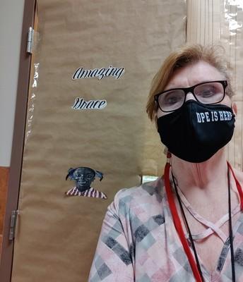 Mrs. Camp celebrates BHM!