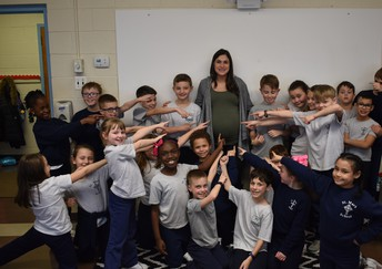 3rd Grade is really happy for Mrs. O'Neil!!