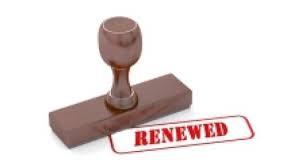 License Renewal Updates