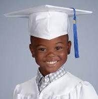 Kindergarten Cap & Gown Pictures - April 15th