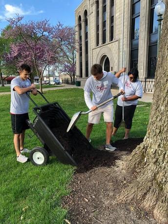 Seniors Skip to Serve