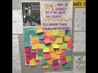 5th Grade finds the Theme!