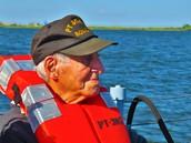 Joe, back on a PT Boat