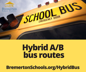 Bus transportation for Hybrid Learning students (A/B)