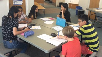 Westview Students Tutor Middle Schoolers in Math