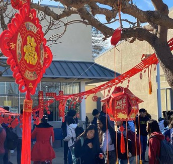 Celebrating the Lunar New Year - LAHS style
