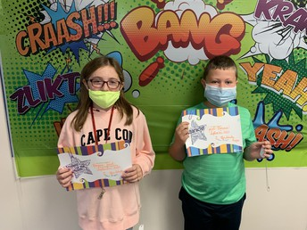Grade 5- Schultz Students of the Month