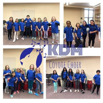 Coyote Choir to Perform the National Anthem