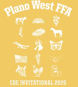 Plano West Invitational CDE Shirt