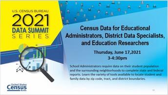 US Census Bureau 2021 Data Summit Series