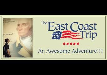 2021-2022 8th grade East Coast Trip