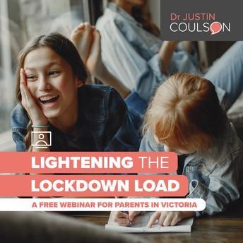 FREE WEBINAR - Lightening the Lockdown Load