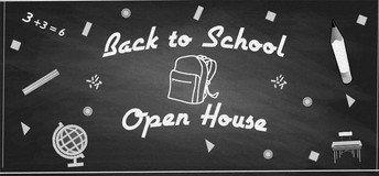 Open House and Back to School Info