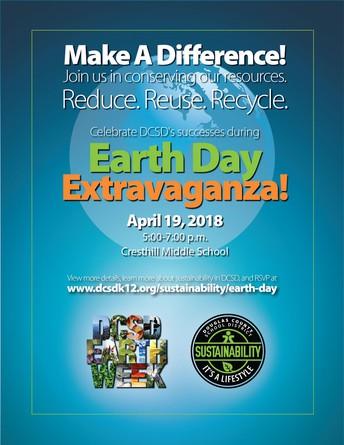 This Thursday Night - DCSD Earth Week Extravaganza!