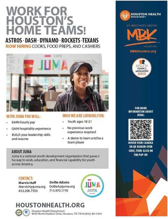 Work for Houston's Home Teams!