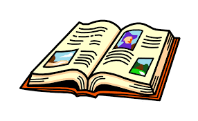 clip art of an open book
