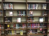 Shifted , Inviting Shelf of Books