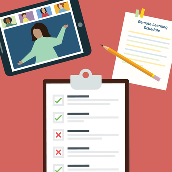 Remote Learning Schedule Templates