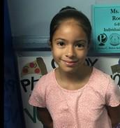 Luz Valencia,  MYP Year 1, Grade 6