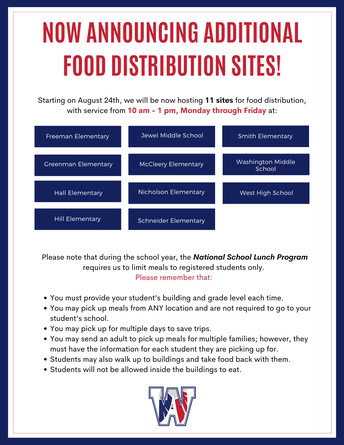 SD129 Food Distribution: New sites added