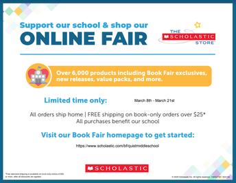 Virtual Book Fair - open through March 21