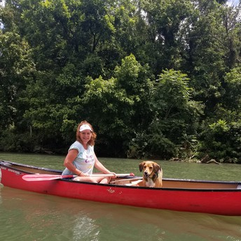 Kayaking with Opie!