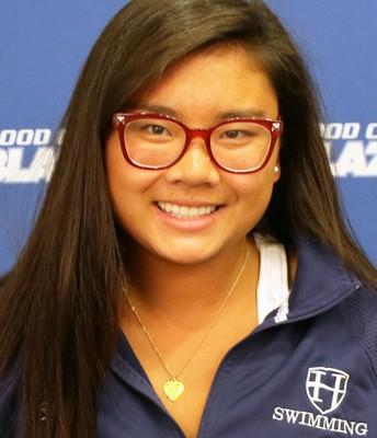 Danielle Pong, women's swimming