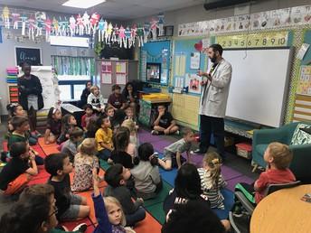 Pumpkin Science in Kindergarten!