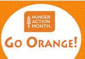 Go Orange Food Drive