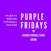 FRIDAYS - Wear Your Team's Colors