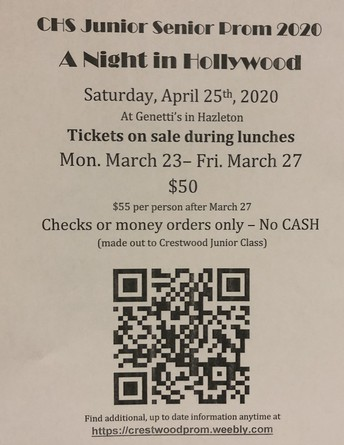 Prom tickets go on sale soon!