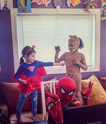 Sayre Virtual Spirit Week: Superhero Day