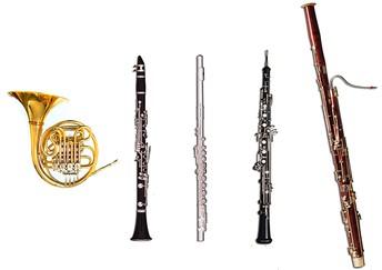 L'últim dia del curs un quintet de vent interpretarà les composicions dels alumnes en directe!