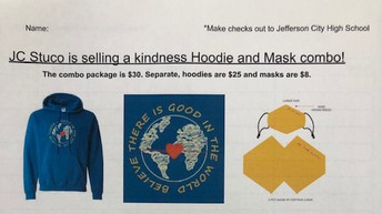 Student Council Hoodies and Masks