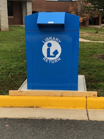 OHS Curbside Library Check-Out