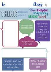 Digital Citizenship - create a class contract