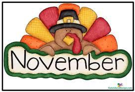 WEEK OF NOVEMBER 2-6