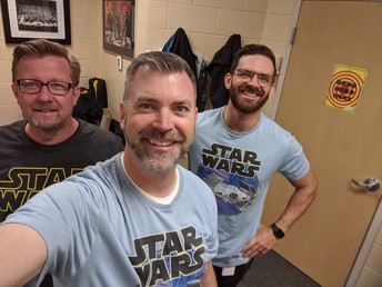 STAR WARS TRIO