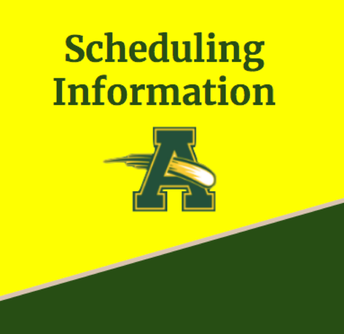 2020-2021 Scheduling Information