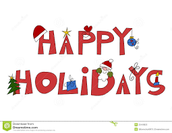 Happy Holidays to Staff, Your Families and Friends