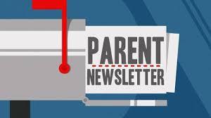 Parent Newsletter.....