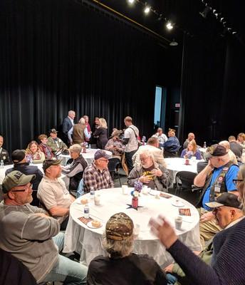 Veterans breakfast reception