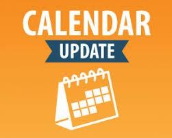 March 22- March 26 Calendar Update