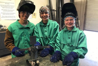 Girls welding