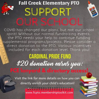 Support our school with the Cardinal Pride Fund