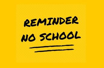 No School - Friday, April 19th